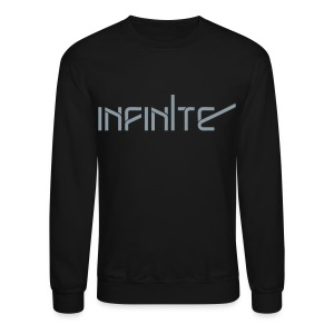 [INF] Infinite Words (Metallic Silver) - Crewneck Sweatshirt