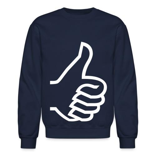 Thumbs Up - Crewneck Sweatshirt