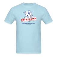 T-Shirts ~ Men's T-Shirt ~ Official Dogs Against Romney NOT LUGGAGE Men's Tee