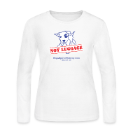 Long Sleeve Shirts ~ Women's Long Sleeve Jersey T-Shirt ~ Official Dogs Against Romney NOT LUGGAGE Women's Long Sleeve Tee