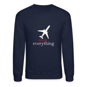 Men Plane Sweater - Crewneck Sweatshirt