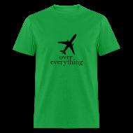 T-Shirts ~ Men's T-Shirt ~ Men Plane Shirt