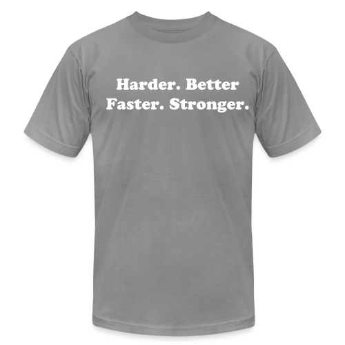 Harder, Better, Faster, Stronger - Men's Fine Jersey T-Shirt