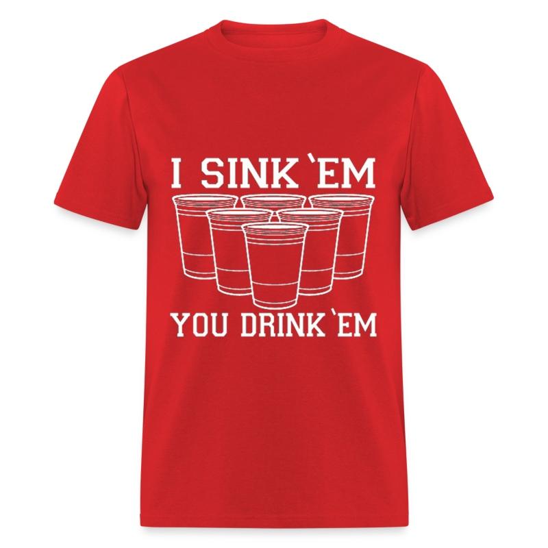 Beer Pong Shirt Designs