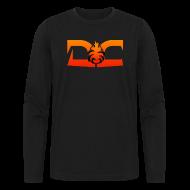 Long Sleeve Shirts ~ Men's Long Sleeve T-Shirt by Next Level ~ MENS LONG SLEEVE: DotaCinema red logo black