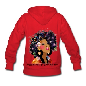 SN&LI! Red Hoodie in Color  - Women's Hoodie