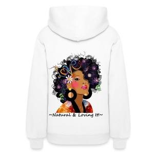 SN&LI! White Hoodie in Color - Women's Hoodie