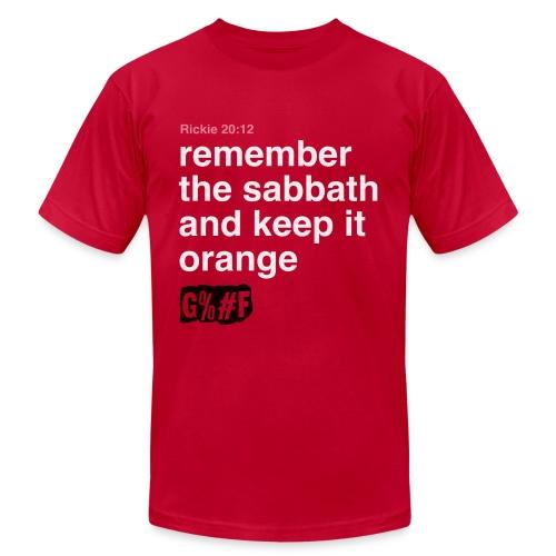 Rickie 20:12 - Men's Fine Jersey T-Shirt
