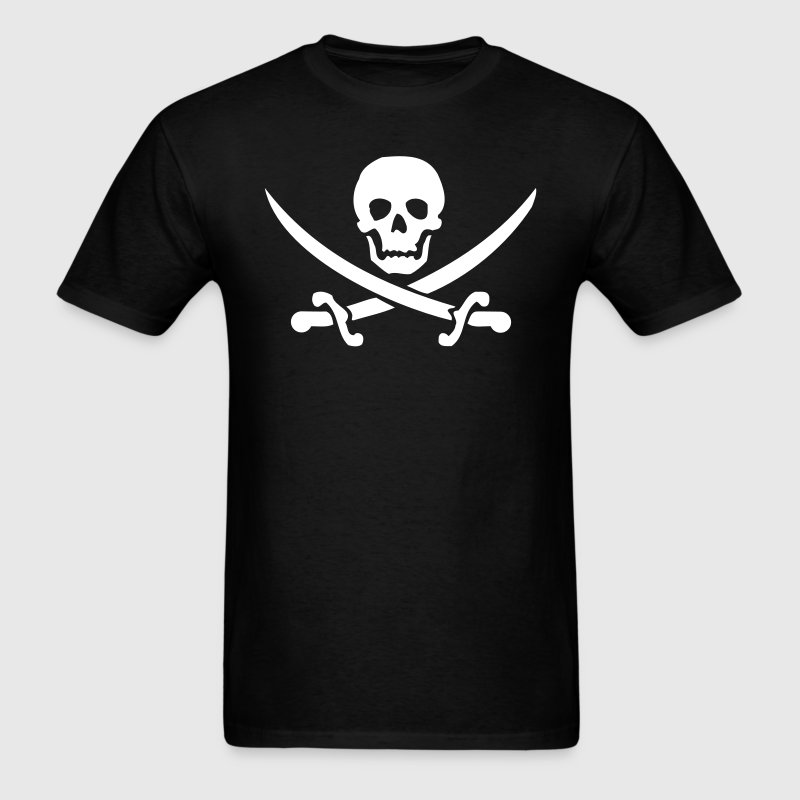 pirate skull saber T-Shirts - Men's T-Shirt