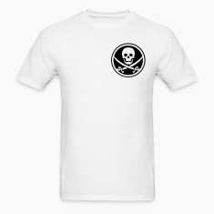 pirate skull emblem T-Shirts