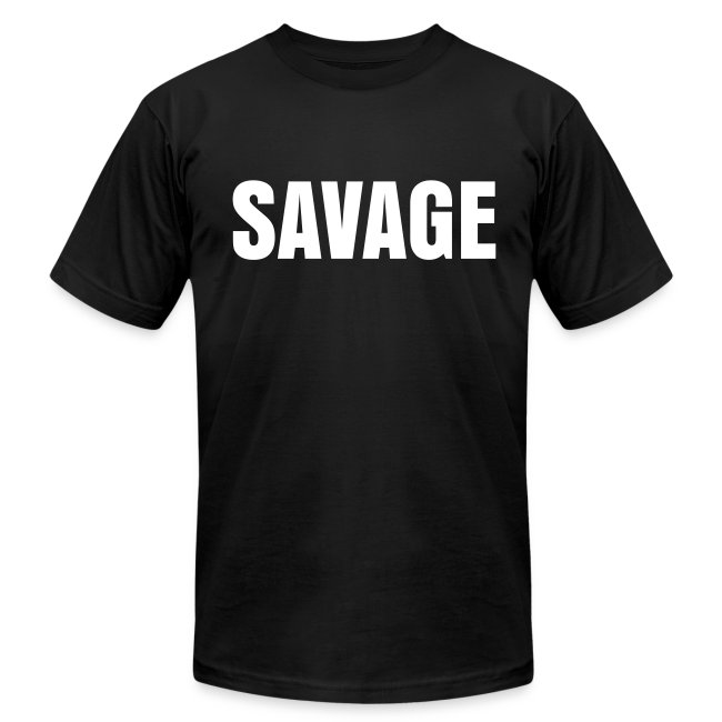 Mens SAVAGE No Cattle Tee
