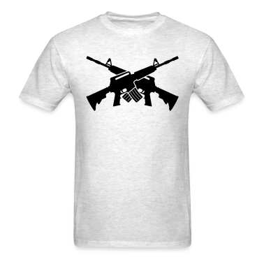 Crossed M16 T-Shirts