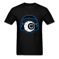 T-Shirts ~ Men's T-Shirt ~ DubstepLyrics Eyeball