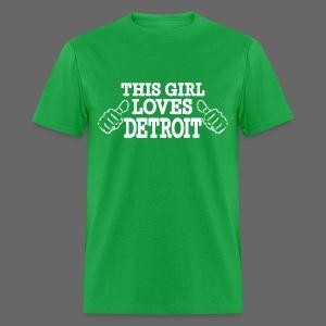 This Girl Loves Detroit - Men's T-Shirt