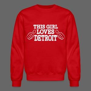 This Girl Loves Detroit - Crewneck Sweatshirt