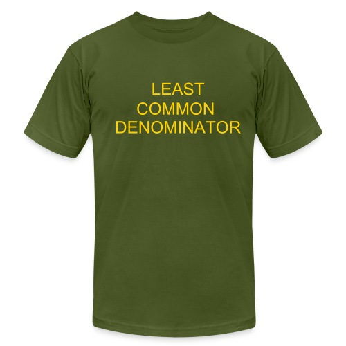 Least Common - Men's Fine Jersey T-Shirt