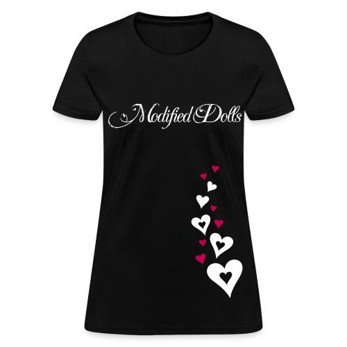Heart Design Dolls - Women's T-Shirt