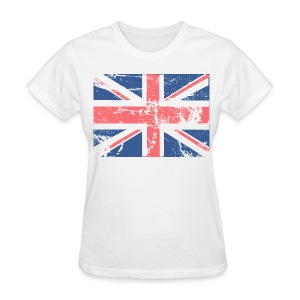 Vintage Brittish Flag - Women's T-Shirt