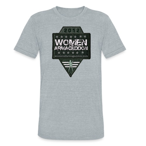 Women of Armageddon Logo Patch Vintage T - Unisex Tri-Blend T-Shirt
