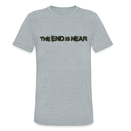 The End is Near Vintage T - Unisex Tri-Blend T-Shirt