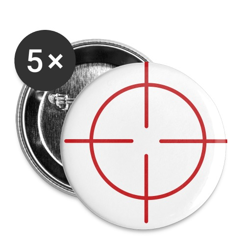 Crosshair Button - Large Buttons