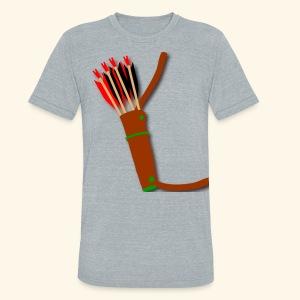 quiver archery design by patjila2 - Unisex Tri-Blend T-Shirt