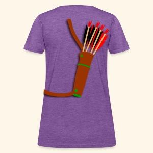 quiver archery design by patjila2 - Women's T-Shirt