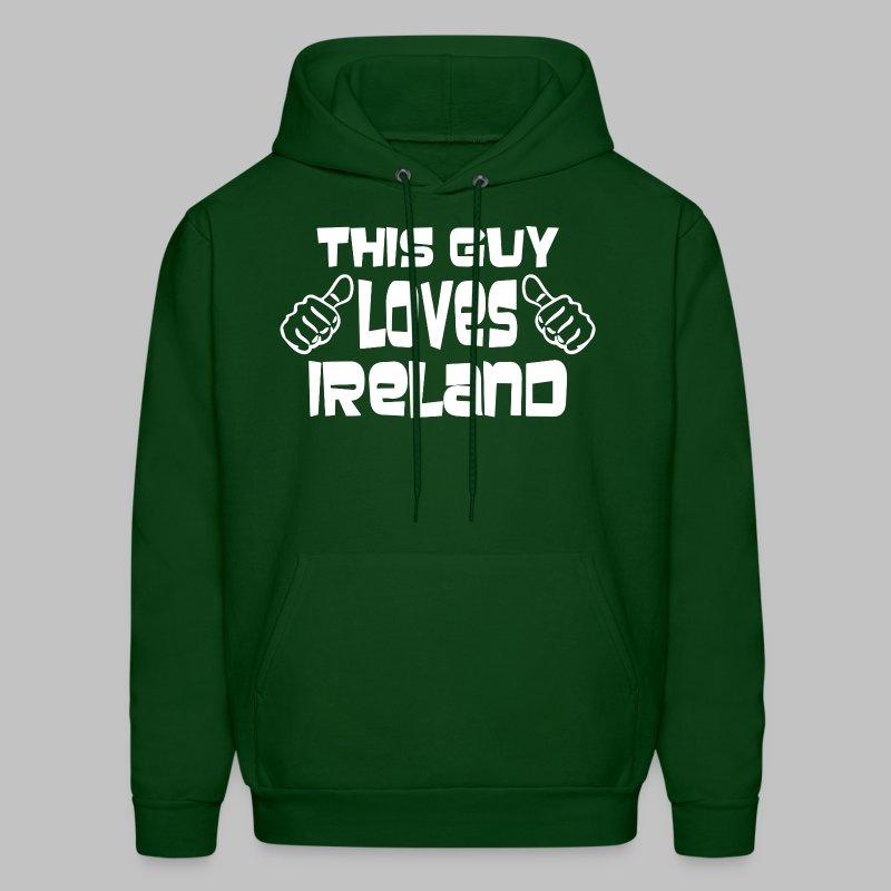 This Guy Loves Ireland - Men's Hoodie