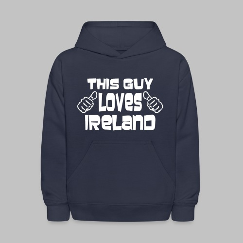 This Guy Loves Ireland - Kids' Hoodie