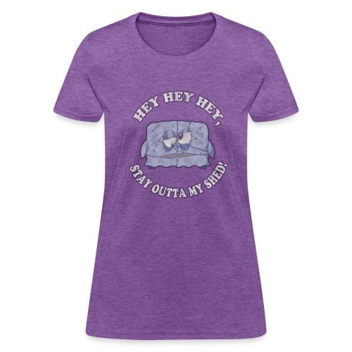 SHED.SHIRT (chicks) - Women's T-Shirt
