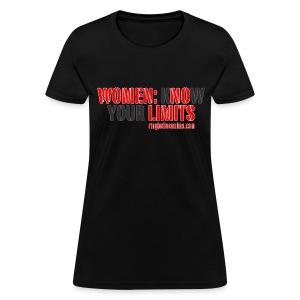 Ringbelles No Limits 2.0 Women's T-shirt - Women's T-Shirt