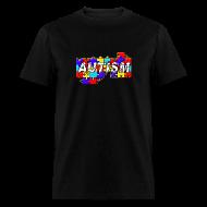T-Shirts ~ Men's T-Shirt ~ AUTISM  JIG PRINT
