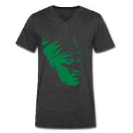 T-Shirts ~ Men's V-Neck T-Shirt by Canvas ~ bobo rasta