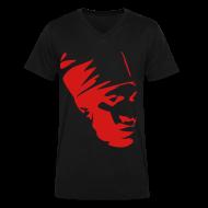 T-Shirts ~ Men's V-Neck T-Shirt by Canvas ~  v-neck bobo rasta