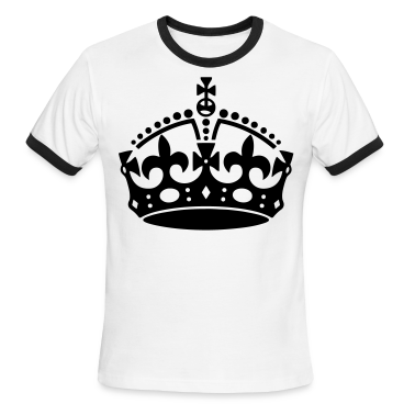 Keep Calm Crown T-Shirts - stayflyclothing.com