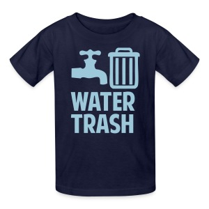 Water Trash Shirt - Kids' T-Shirt