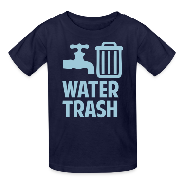 Water Trash Kids' Shirts
