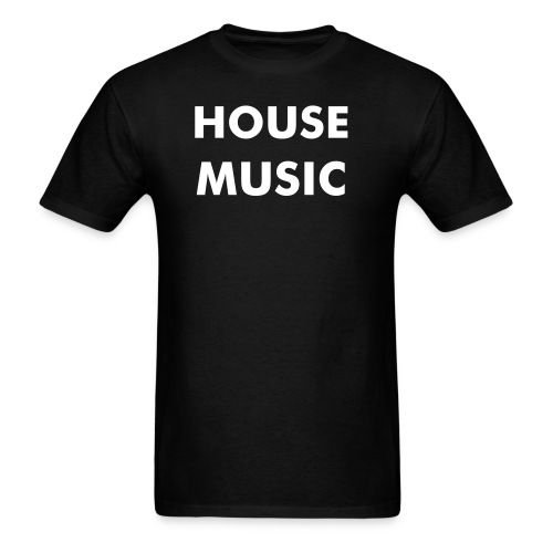 HOUSE MUSIC BSP - Men's T-Shirt
