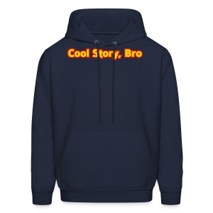 Cool Story Bro - Mens Hooded Sweatshirt - Men's Hoodie