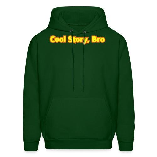 Cool Story Bro - Mens Hooded Sweatshirt - Men's Hoodie
