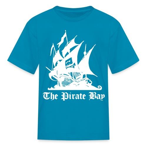 The Pirate Bay Logo Vector T-Shirt - Kids' T-Shirt