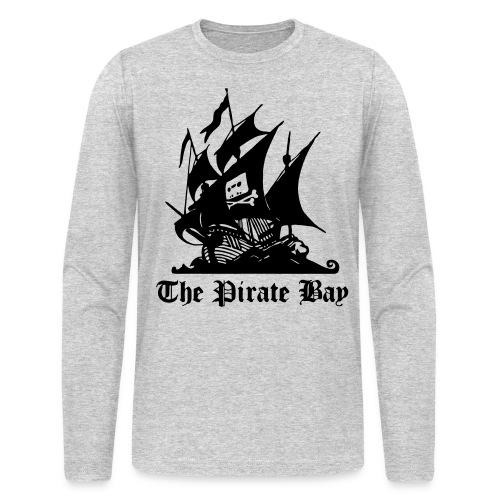 The Pirate Bay Logo Vector Long Sleeve T-Shirt - Men's Long Sleeve T-Shirt by Next Level