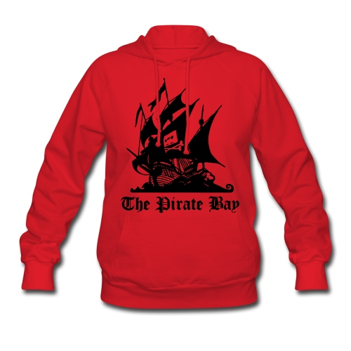 The Pirate Bay Logo Vector Hoodies - Women's Hoodie