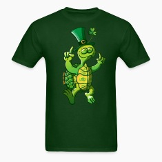 Saint Patrick's Day Turtle T-Shirts
