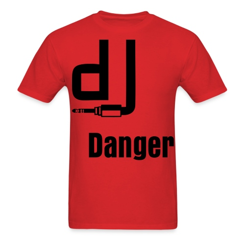 DJ Danger - Men's T-Shirt