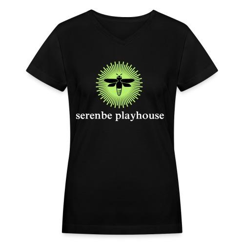 Serenbe Playhouse Women's V-Neck T - Women's V-Neck T-Shirt