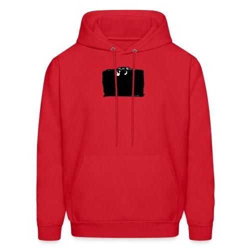 Hooded Sweatshirt, Classic Black Bag - Men's Hoodie