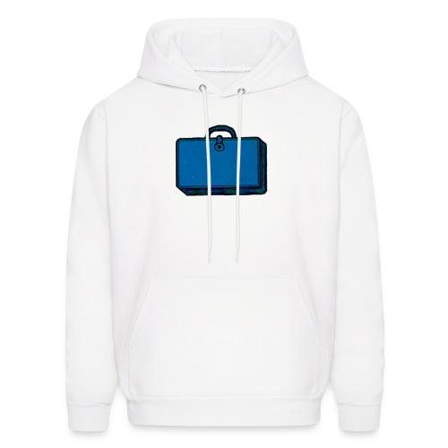 Hooded Sweatshirt, Classic Blue Bag - Men's Hoodie