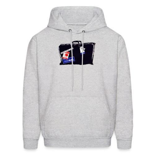 Hooded Sweatshirt, McFadden Travel Black Bag - Men's Hoodie