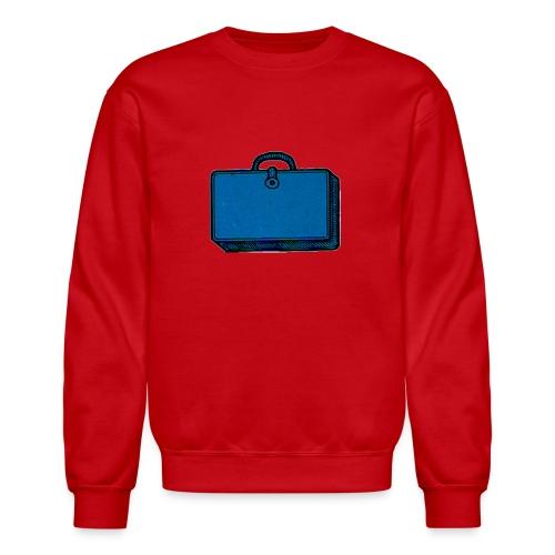 Sweatshirt, Classic Blue Bag - Crewneck Sweatshirt